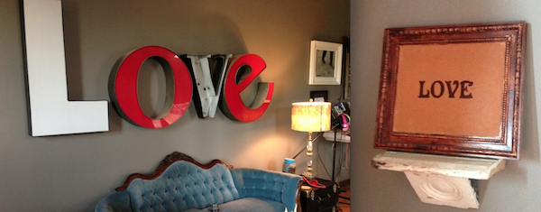 Love decor theme