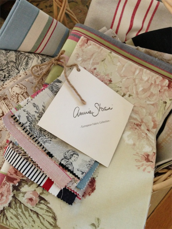 Annie Sloan European Fabric Selection
