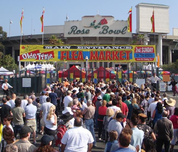 Rose Bowl Flea Market Entrance Gates Treasures  Pasadena Tami