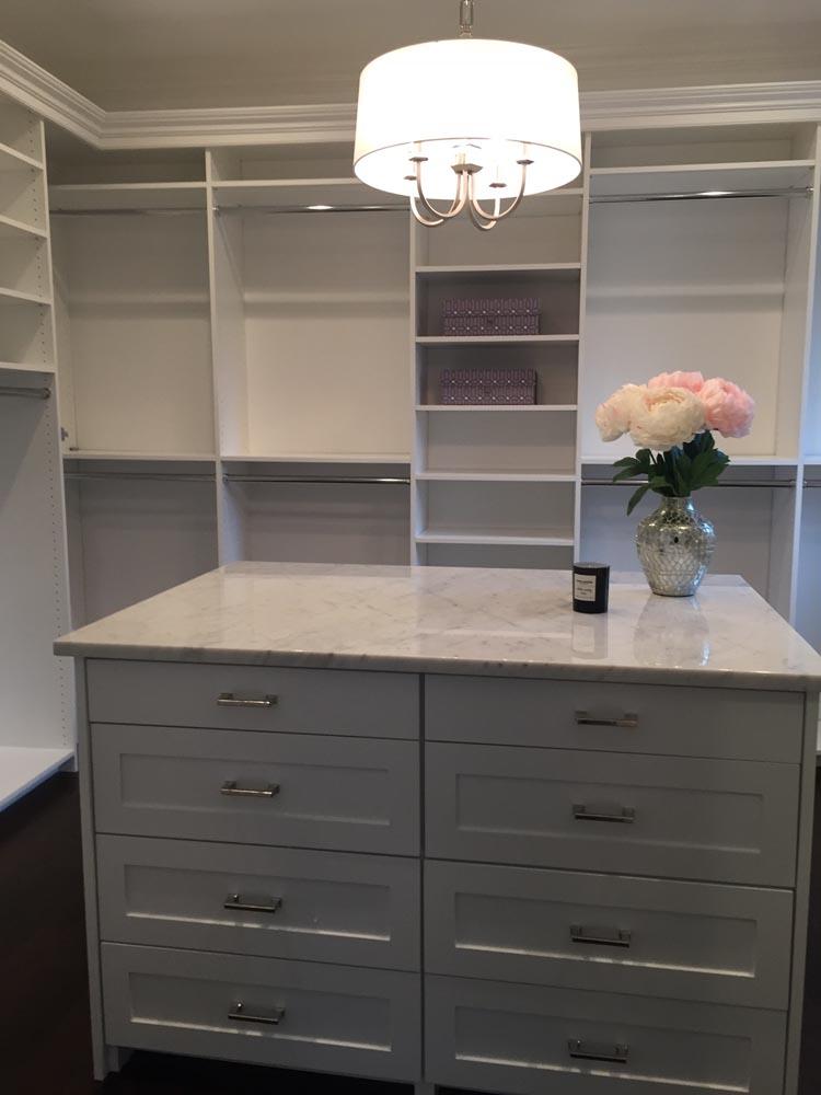 custom closet interior