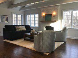 comfortable Stamford interior design space