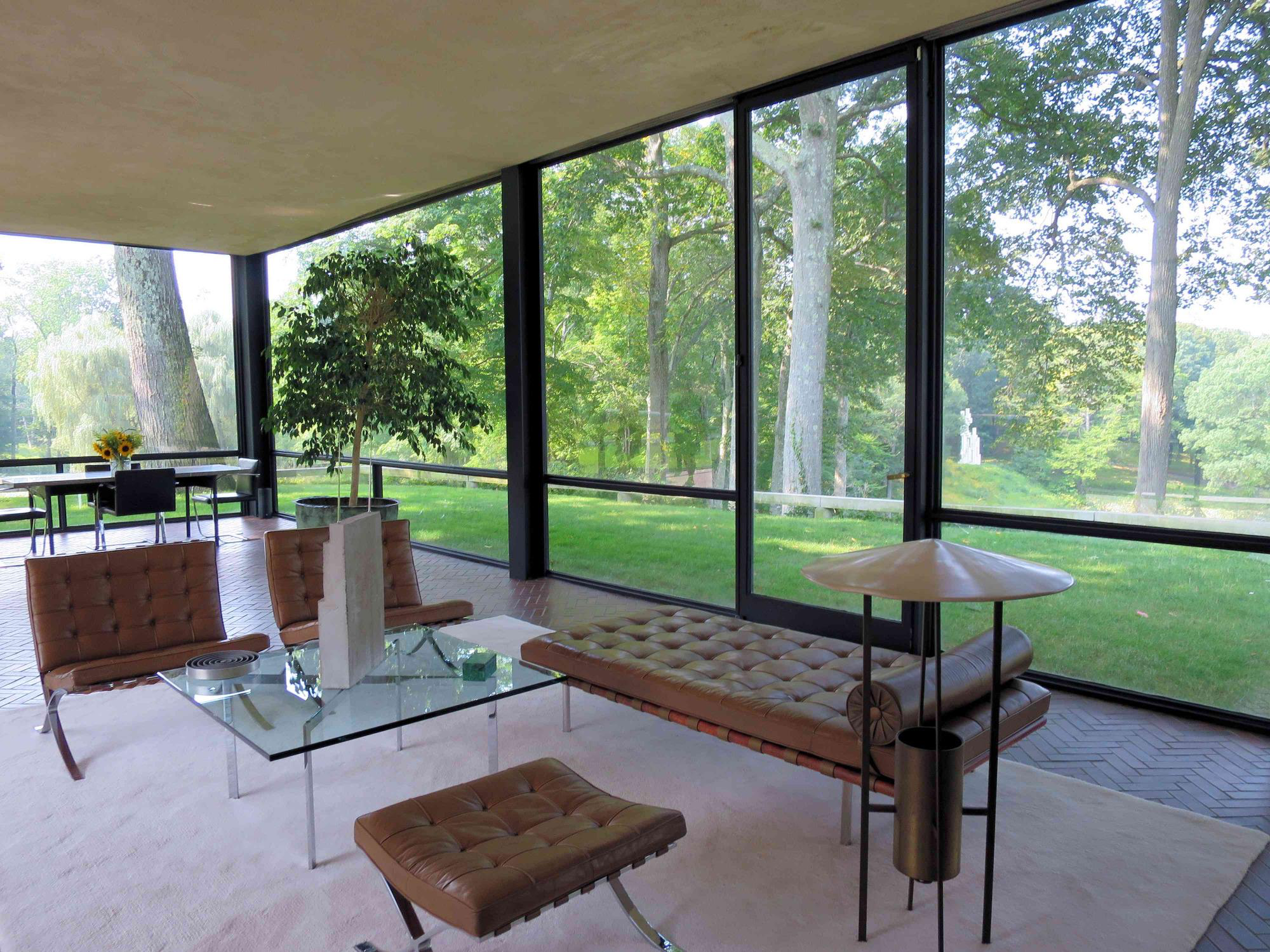 The Glass House Interior