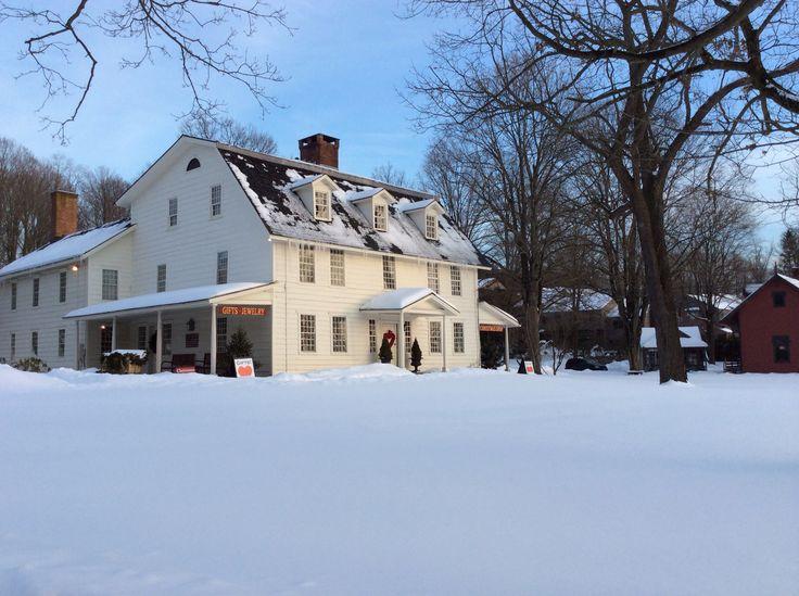 Wilton Store Snow