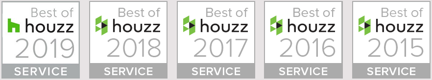 best of Houzz interior design services award winner